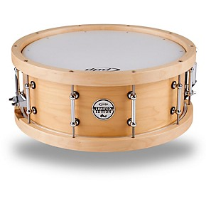 pdp by dw maple snare with wood hoops musician 39 s friend. Black Bedroom Furniture Sets. Home Design Ideas