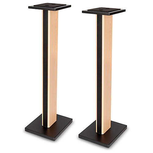 DR Pro Maple Wood Studio Monitor Stand (Pair) Maple