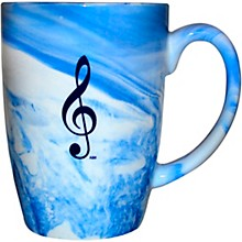 AIM Marbleized Blue Mug