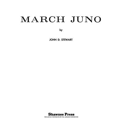 Shawnee Press March Juno Concert Band Level 3 Composed by STEWART