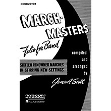 Rubank Publications March Masters Folio for Band (1st Bb Cornet) Concert Band Composed by Various