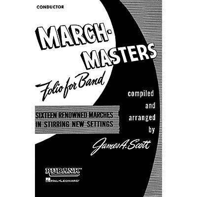 Rubank Publications March Masters Folio for Band (2nd Bb Cornet) Concert Band Composed by Various