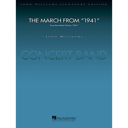 Hal Leonard March from 1941 (Score and Parts) Concert Band Level 5 Arranged by Paul Lavender