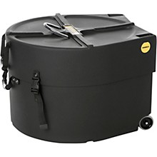 Marching Bass Drum Case with Wheels 20 in.
