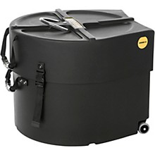 Open BoxHARDCASE Marching Bass Drum Case with Wheels