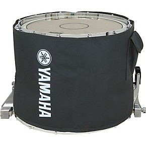 yamaha marching snare drum cover 14 in black musician 39 s friend. Black Bedroom Furniture Sets. Home Design Ideas