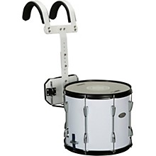 Marching Snare Drum with Carrier 13 x 11 in. White