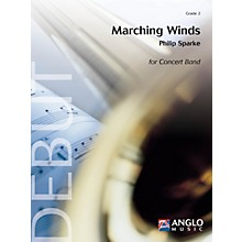 Anglo Music Press Marching Winds (Grade 3 - Score Only) Concert Band Level 3 Composed by Philip Sparke