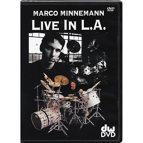 The Drum Channel Marco Minneman: Live in L.A. DVD