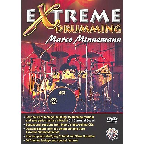 warner bros marco minnemann extreme drumming dvd musician 39 s friend. Black Bedroom Furniture Sets. Home Design Ideas