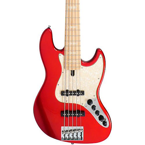 Sire Marcus Miller V7 Swamp Ash 5-String Bass Bright Metallic Red