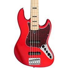 Marcus Miller V7 Vintage Swamp Ash 5-String Bass Bright Red Metallic