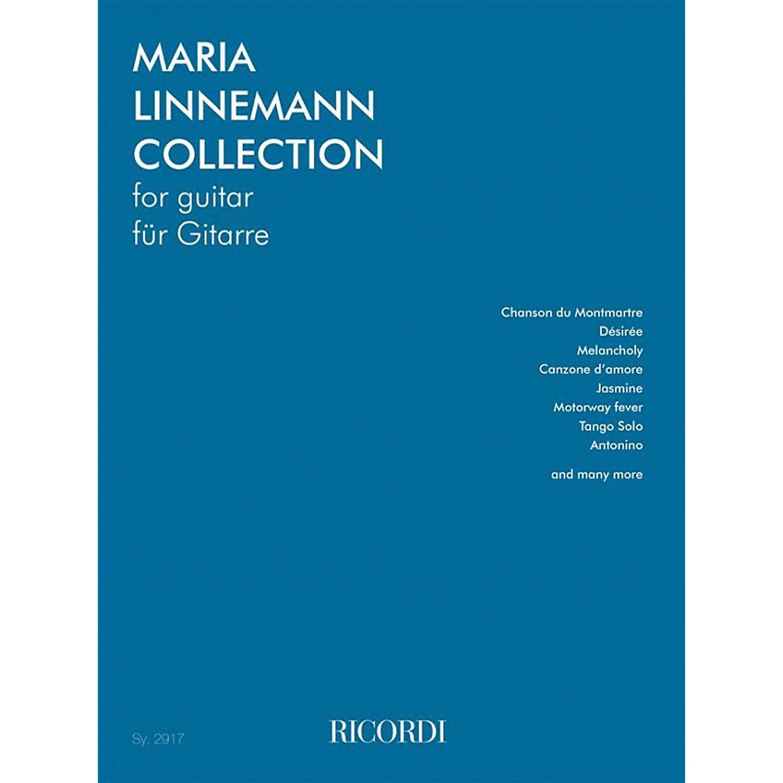 Ricordi Maria Linnemann Collection for Guitar Guitar Series Softcover