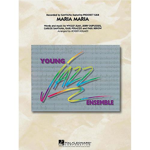 Hal Leonard Maria Maria Jazz Band Level 3 Arranged by Roger Holmes