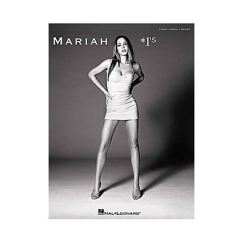Hal Leonard Mariah Carey - #1's Piano, Vocal, Guitar Songbook