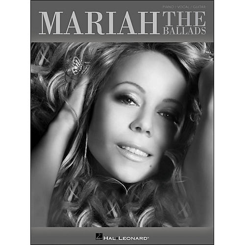 Hal Leonard Mariah Carey - The Ballads arranged for piano, vocal, and guitar (P/V/G)