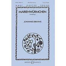 Boosey and Hawkes Marienwürmchen (Unison Treble) Unison Treble composed by Johannes Brahms
