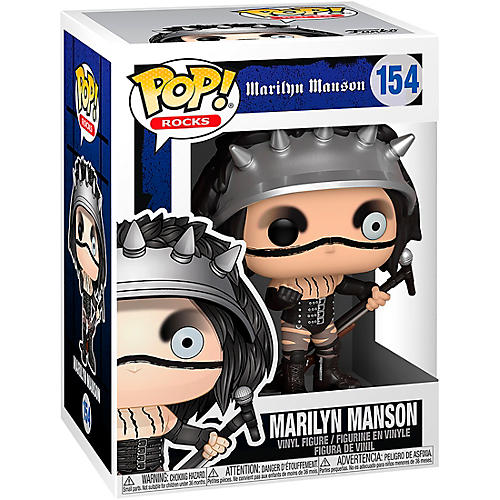 Funko Marilyn Manson Pop! Rocks Vinyl Figure #154