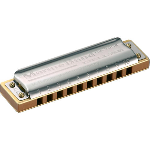 Hohner Marine Band Deluxe Harmonica M2005 Low Tuning