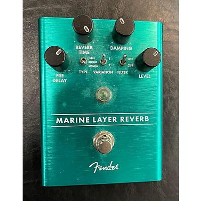 Fender Marine Layer Reverb Effect Pedal