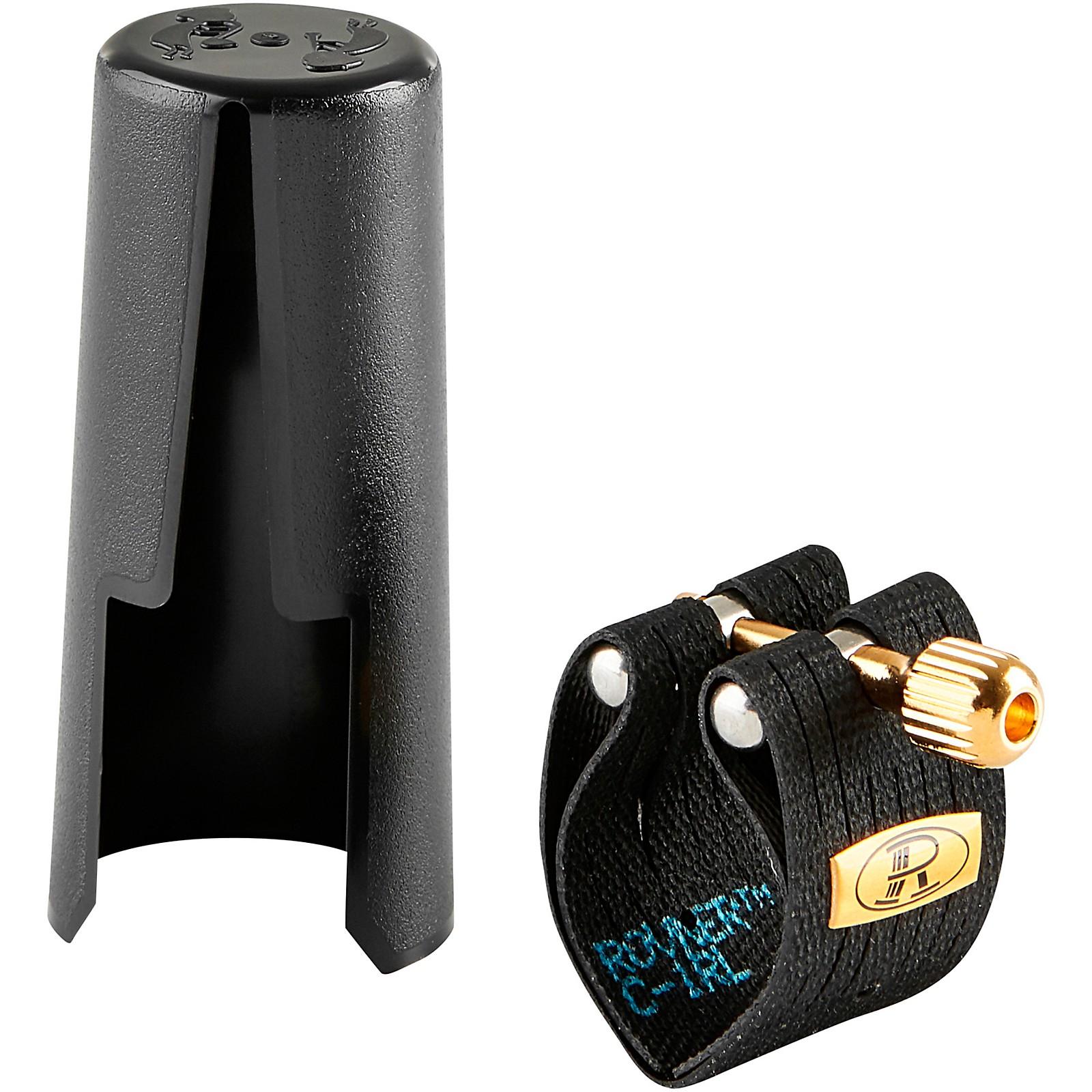 Rovner Mark III C-1RL Alto Saxophone Ligature and Cap