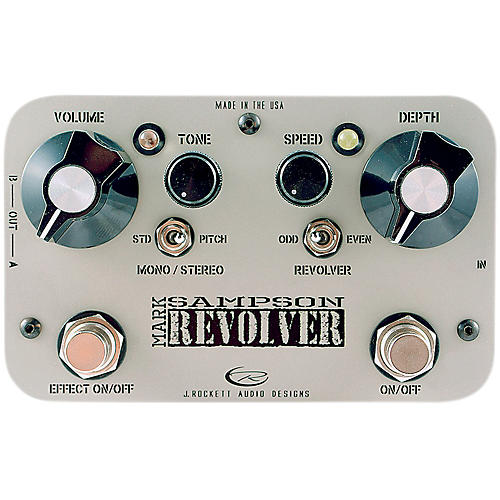 Rockett Pedals Mark Sampson Revolver Stereo Boost/EQ Guitar Effects Pedal