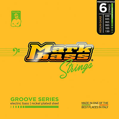 Markbass Markbass Groove Series Electric Bass Nickel Plated Steel Strings