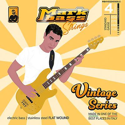 Markbass Markbass Vintage Series Stainless Steel Flat Wound