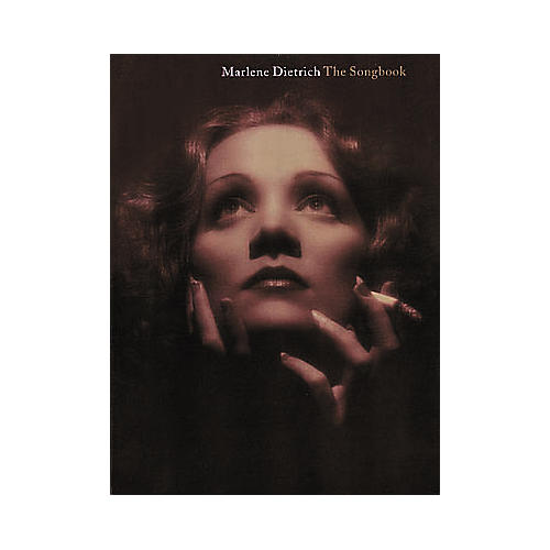 Hal Leonard Marlene Dietrich - The Songbook for Piano, Vocal, Guitar