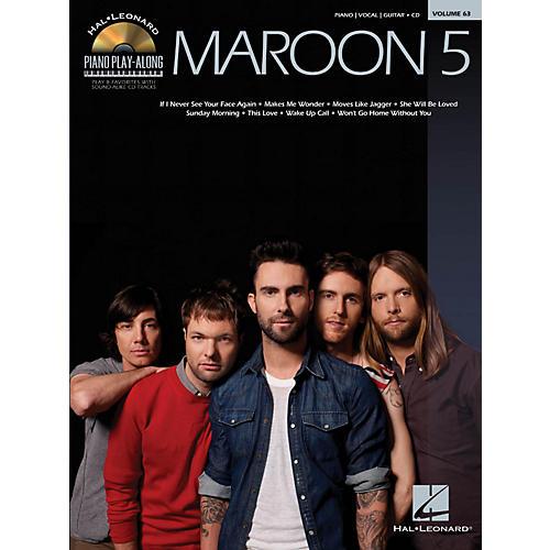 Hal Leonard Maroon 5 - Piano Play-Along Volume 63 Book/CD