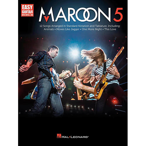 Hal Leonard Maroon 5 for Easy Guitar (With Tab)