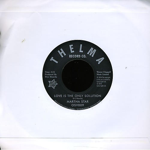 Alliance Martha Star - Love Is the Only Solution/No Part Time Love for Me