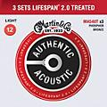 Martin Martin Authentic Acoustic Value Pack Lifespan 2.0 Light Strings - Set of 3 thumbnail