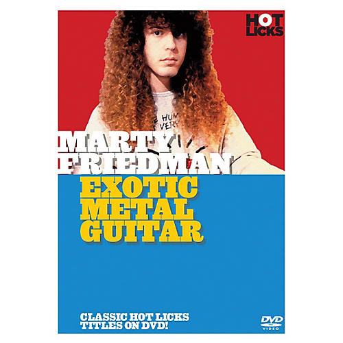 Music Sales Marty Friedman - Exotic Metal Guitar Music Sales America Series DVD Written by Marty Friedman