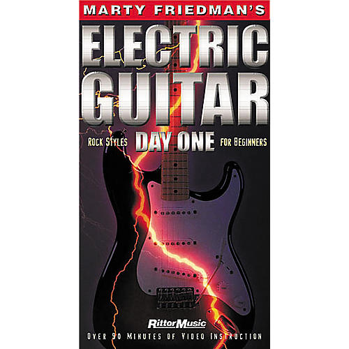 Hal Leonard Marty Friedman's Electric Guitar Day One Video