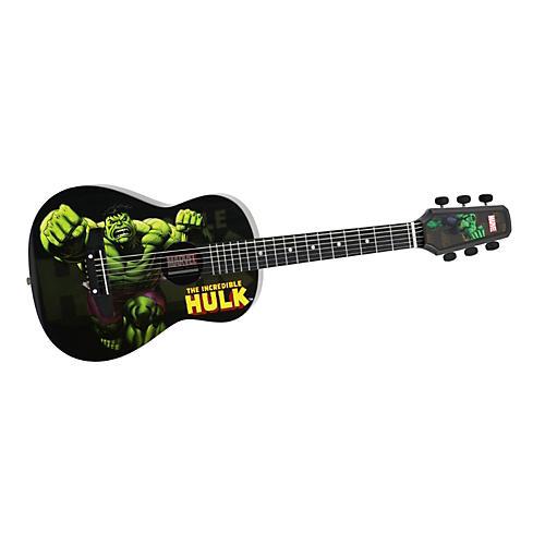 Peavey Marvel Hulk 1/2 Size Acoustic Guitar