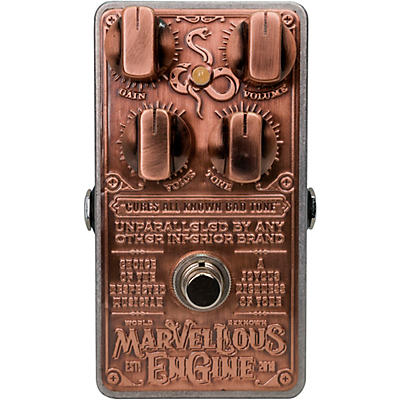 Snake Oil Fine Instruments Marvellous Engine Distortion Effects Pedal