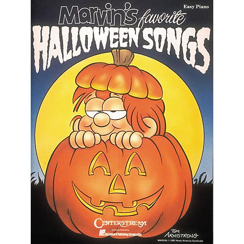 Hal Leonard Marvin's Favorite Halloween Songs Easy Piano Book