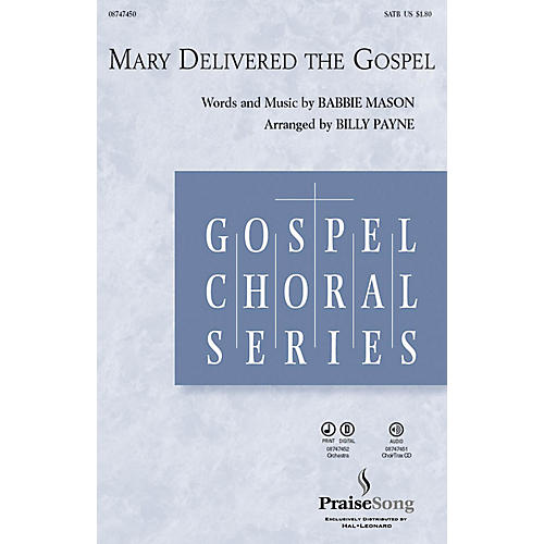 Hal Leonard Mary Delivered the Gospel CHOIRTRAX CD Arranged by Billy Payne