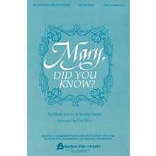 Fred Bock Music Mary, Did You Know? 2-Part arranged by Fred Bock