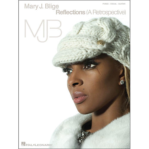 Hal Leonard Mary J. Blige Reflections (A Retrospective) arranged for piano, vocal, and guitar (P/V/G)