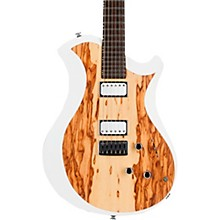 Mary One Electric Guitar African Marble/White Edge