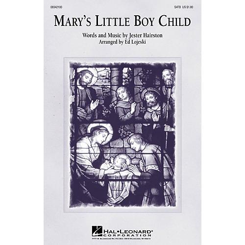 Hal Leonard Mary's Little Boy Child ShowTrax CD Arranged by Ed Lojeski