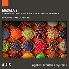 Applied Acoustics Systems Masala 2 - Sound Pack for String Studio VS-3