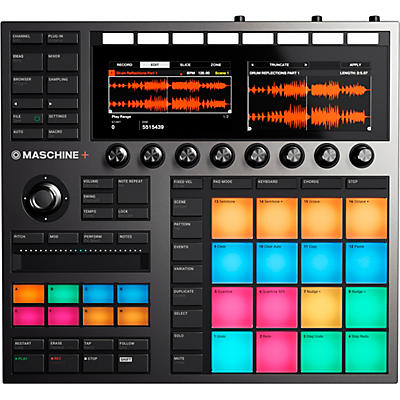 Native Instruments MASCHINE+ Standalone Groovebox and Sampler