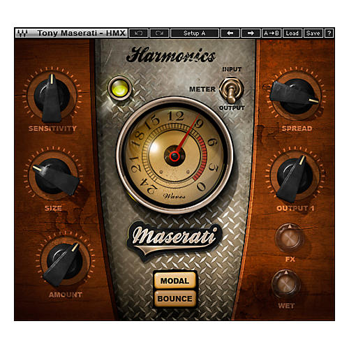 Waves Maserati HMX Harmonics Generator Plug-in Native Software Download
