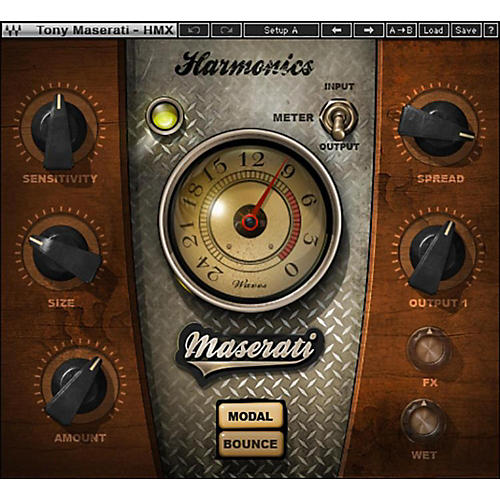 Waves Maserati HMX Harmonics Generator Plug-in (SoundGrid Version)