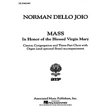 Associated Mass Virgin Mary Congr Pt Mass In Honor Of The Blessed V M Congregation Part