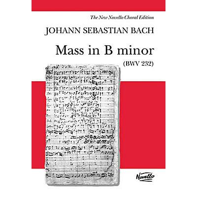 Novello Mass in B Minor (BWV 232) SSATB