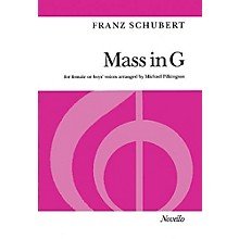 Novello Mass in G (for Female or Boys' Voices) SSAA Composed by Franz Schubert Arranged by Michael Pilkington